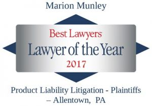 marion-munley- product-liability-lawyer-of-the-year-2017