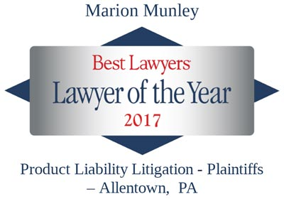 marion munley product liability