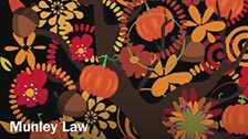 Happy Thanksgiving from Munley Law